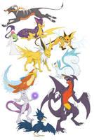 Pokemon Doodles - batch 1