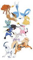 Pokemon Doodles - batch 2