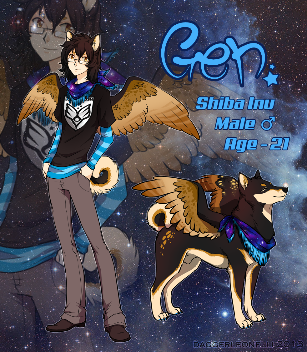 Gen Ref Sheet by Majime