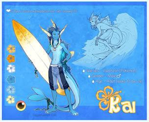 Kai Ref Sheet by Majime