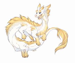 Good Luck Dragon by Majime