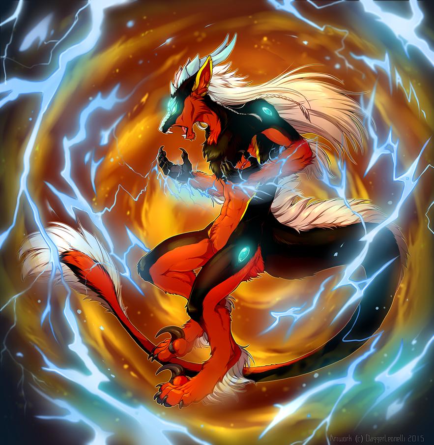 Elemental Rage by Majime