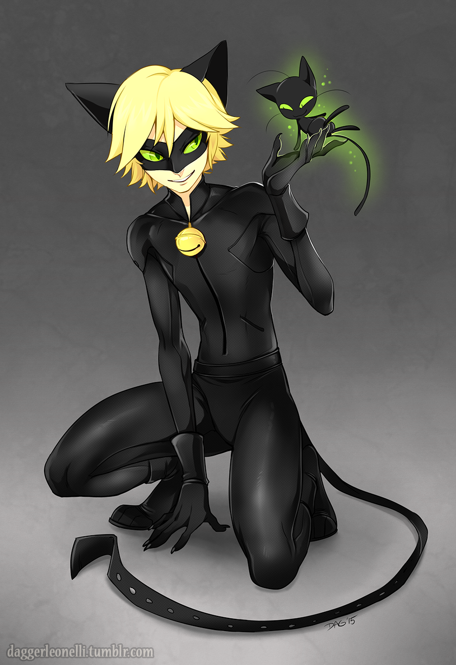 Chat Noir by Majime