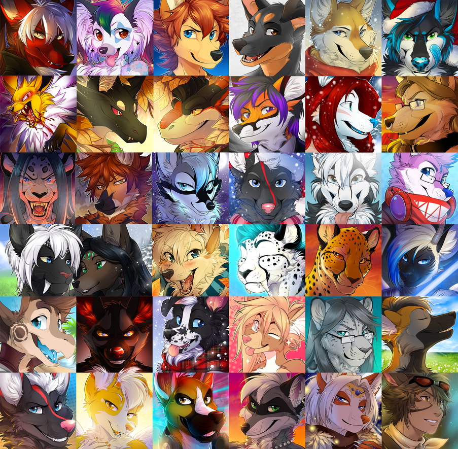 Icon Comms: Full Batch by Majime