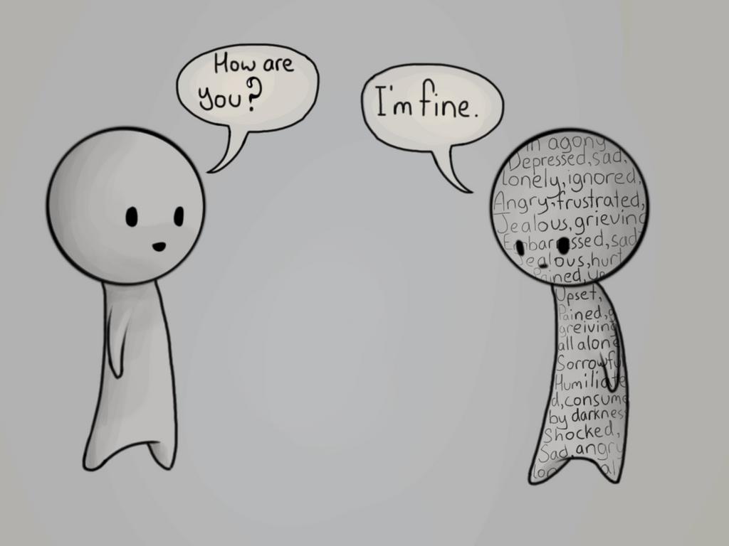 I'm Fine. by Halliova