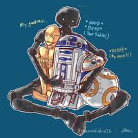 Star Wars Droids by MonneKiakia
