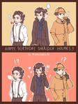 Happy Birthday to Sherlock Holmes!