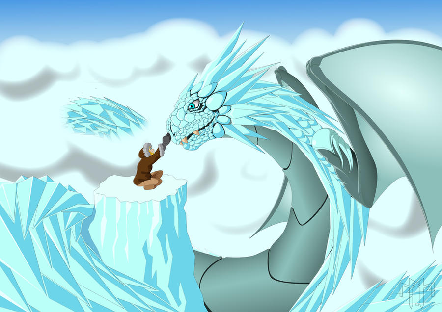 ice dragon by mswelimpilo on deviantart