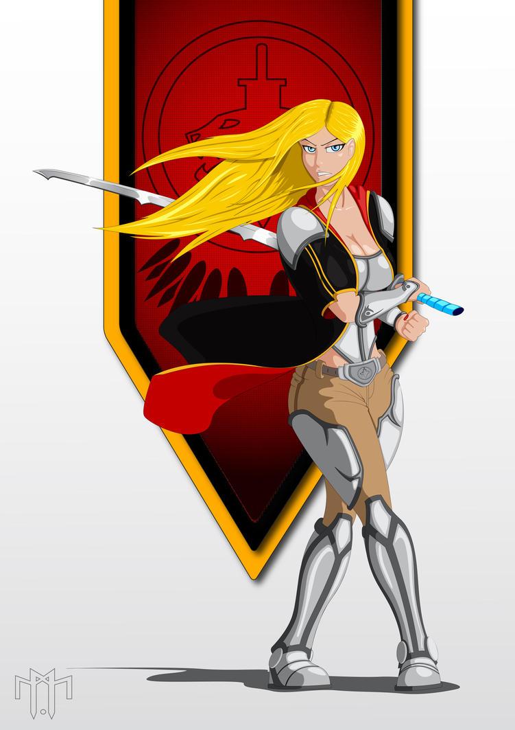 Alexia Demon Hunter by KryptnKnight