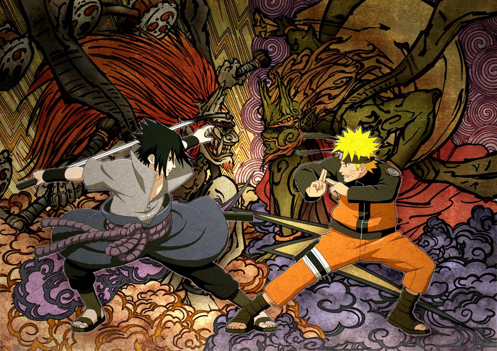 Beautiful Wallpaper Mac Naruto - poster_naruto_x_sasuke_by_isacmodesto-d93vhy7  Trends_28180.jpg