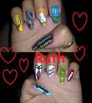 Brian Kinney Nails by RuthNails