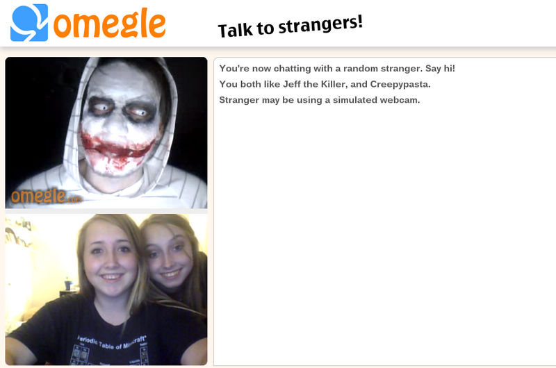 Jeff the Killer on Omegle! by Kuppicake on DeviantArt