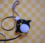 penguin plush keychain