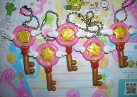 Cardcaptor Sakura key wand by kneazlegurl125