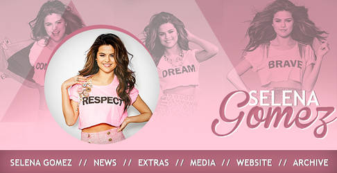 Selena Gomez banner