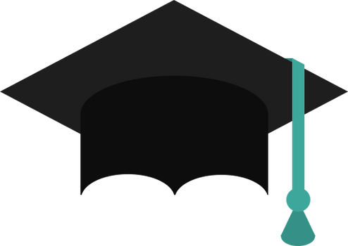 Graduation master hat