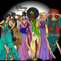 Disney Divas (Part 2) by Anth0nyM1cha3l