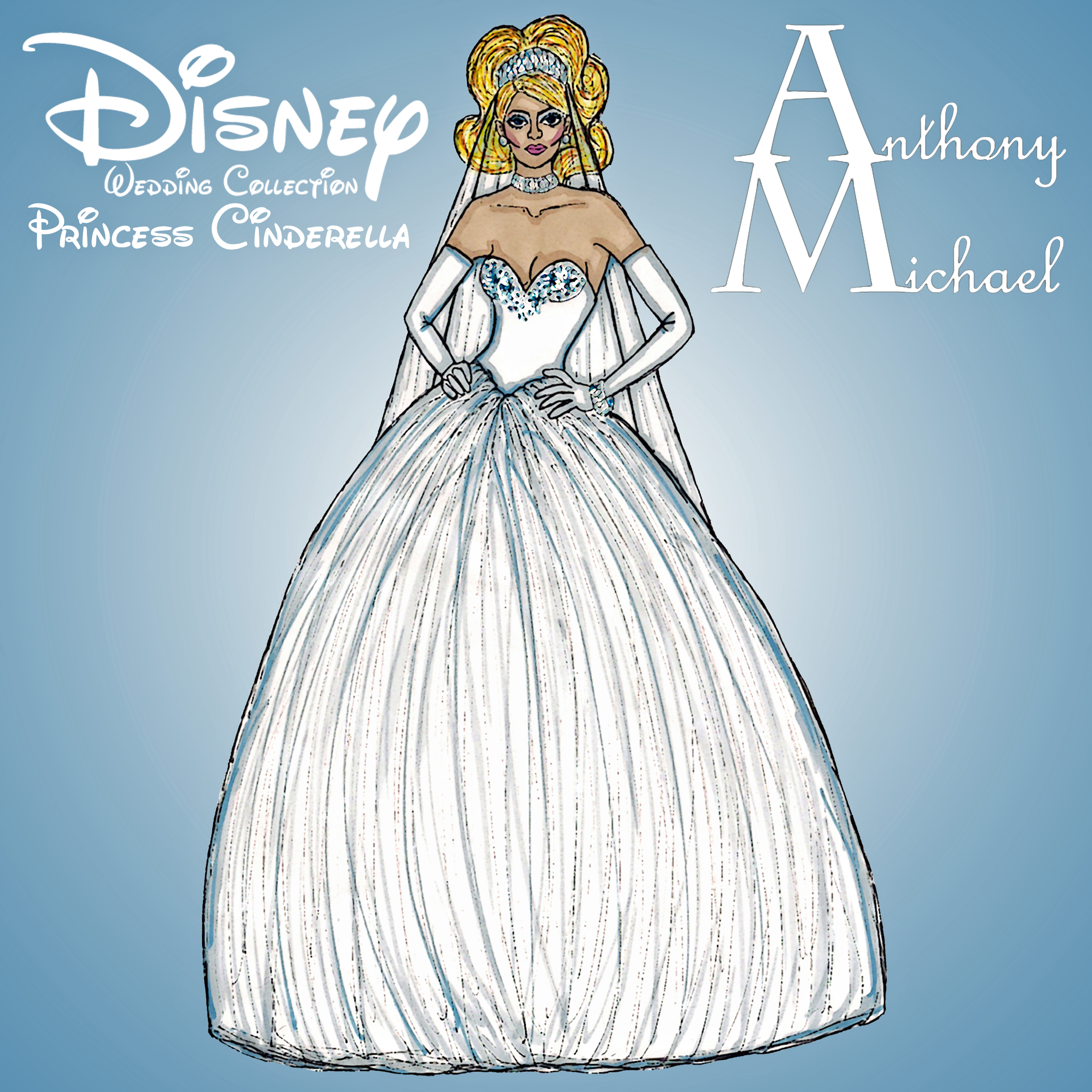 Disney Princess by Anth0nyM1cha3l on DeviantArt