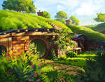 Environment study | Hobbiton