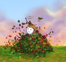 Leaf Pile Time