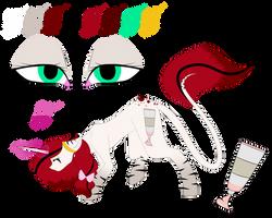 Acrylic Heart Ref 5.0 by Fallen-Colors