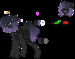 {Ponysona} Estelle by Fallen-Colors