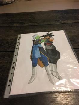 Black Goku and Zamasu is so awesome