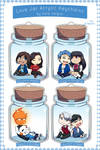 Love Jar Keychains by Kare-Valgon