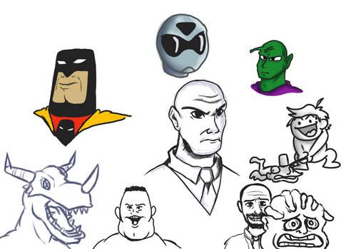 Experimental doodles