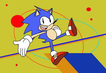Mugi Draws Mania Sonic