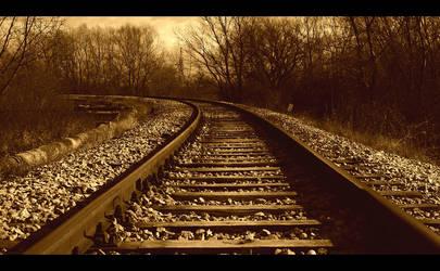 train rail by gogZG