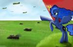 Comrade Luna calls to battle