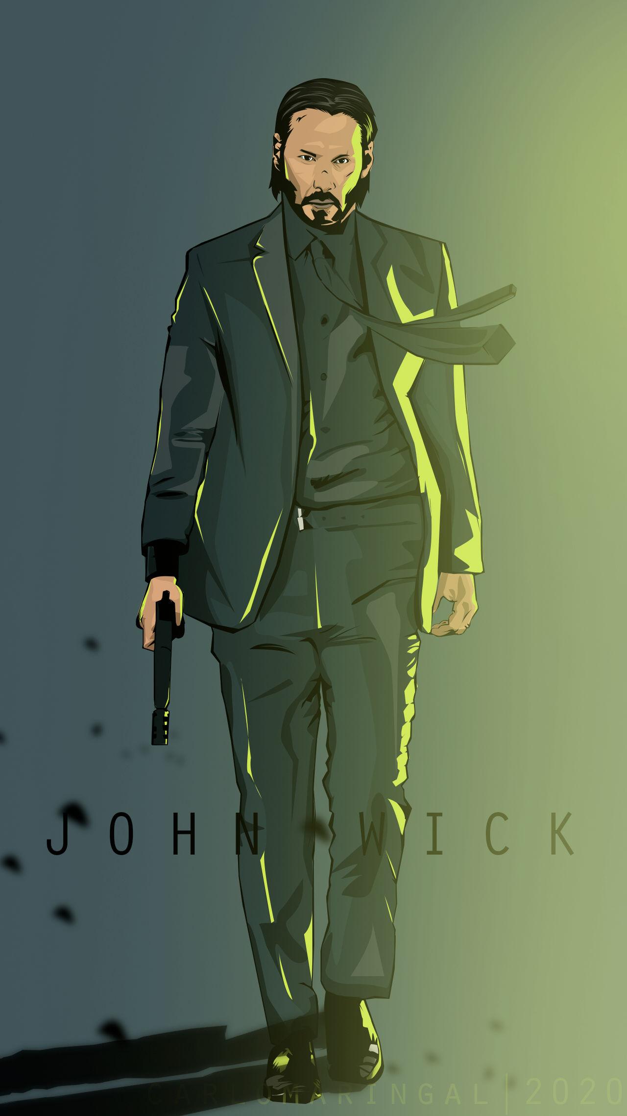 Vector 36 John Wick By Bosscarlo On Deviantart