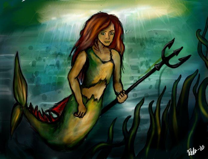 Mermaid by Dobbylove