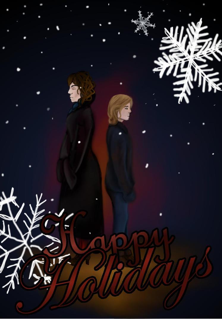 Happy Genderbent Holidays by Dobbylove
