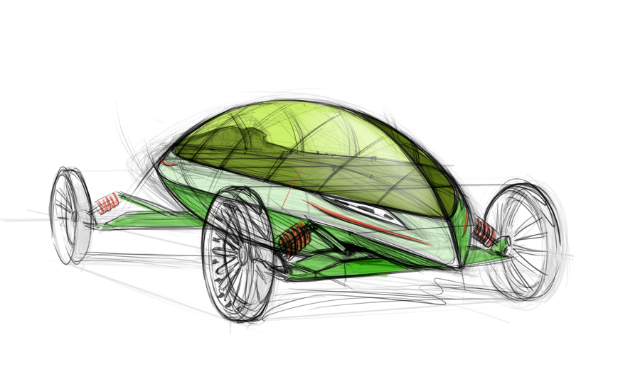 concept car design sketch by Nico4blood on DeviantArt