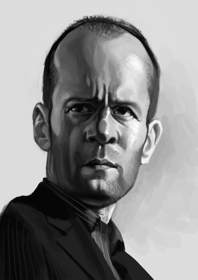 Jason Statham caricature by Nico4blood
