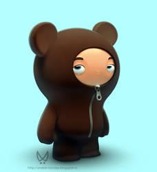 Bear Boy by Nico4blood