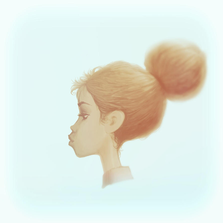 girl profile by Nico4blood