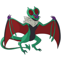 Shiny Noivern - Flying Type Pokemon Collab by MapleDrizzle