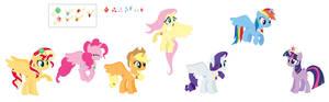 The Princesses Of Harmony WIP