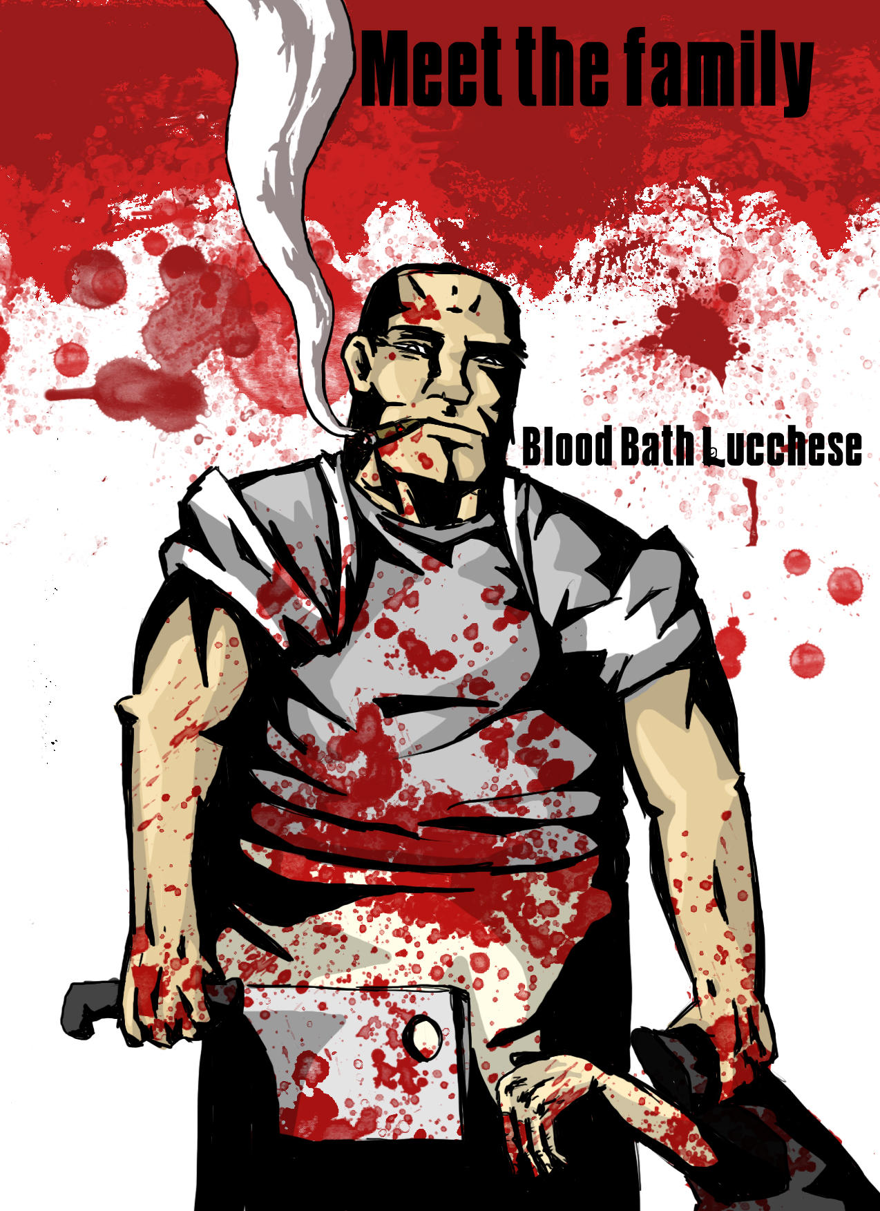 Blood bath Lucchese- mafia by IamINCOGNITO