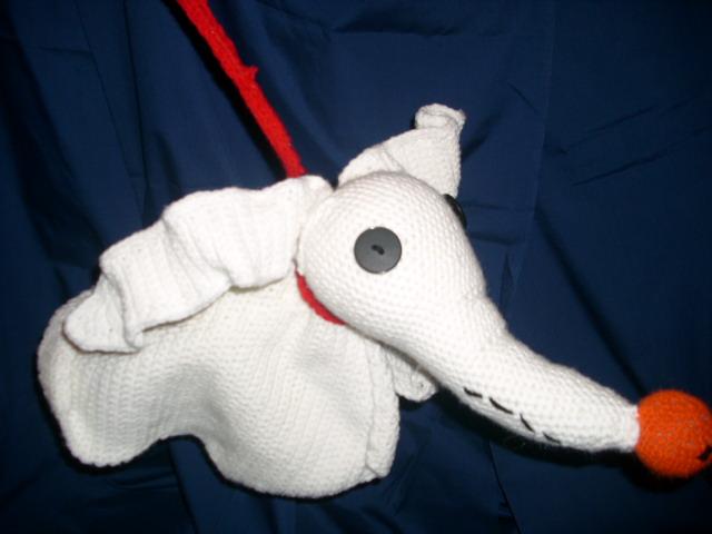 Crocheted Zero by HookedonPlushies