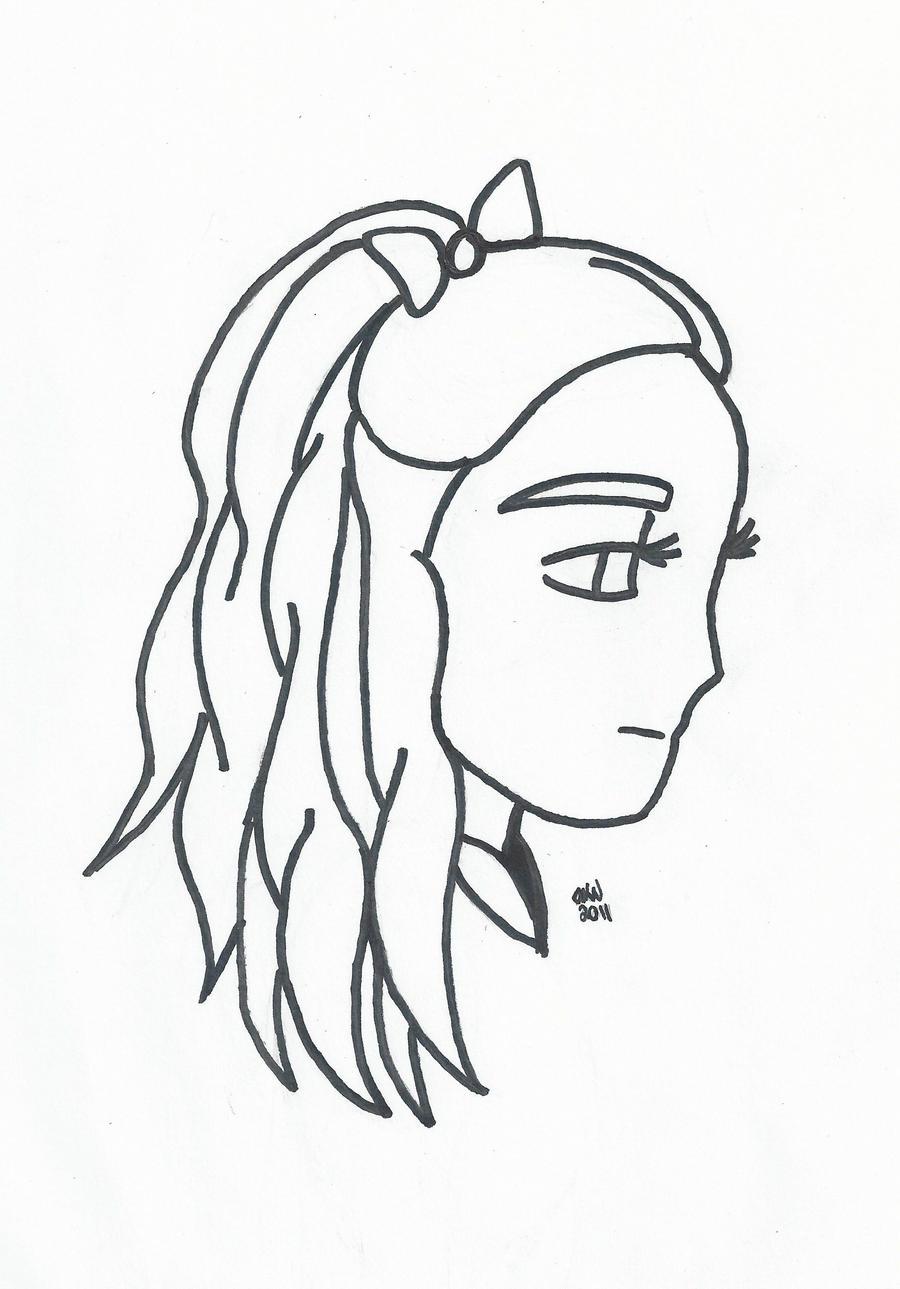 Line Art For Beginners : Simple line art by scarletanneblack on deviantart