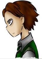 Wick. Tim`s face. Sketch by Dino-Dark