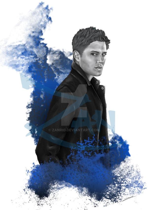 dean Winchester fanart  by Zanrio