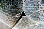 Broken glass II by mercurycode