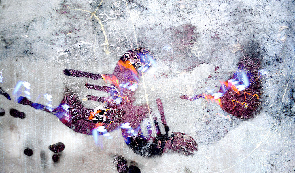 Digital art texture 18 by mercurycode