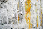 Yellow color on wall