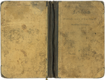 Antique stained book cover | PNG